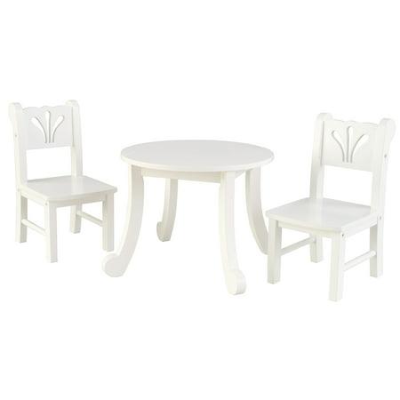 KidKraft Lil Doll Table & Chair Set (Wood Doll Chair)