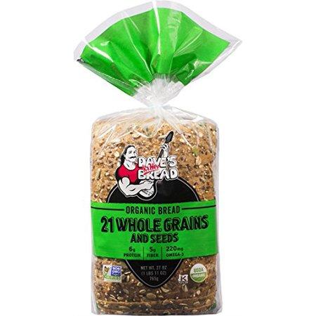 Dave's Killer Bread - 21 Grains - 4 Loaves - USDA Organic - Halloween Food Bread