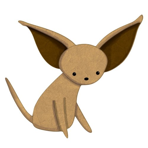 My Wonderful Walls Left-Facing Chihuahua Dog Wall Decal