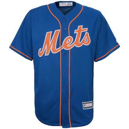 New York Mets Youth Alternate Replica Blank Team Jersey -