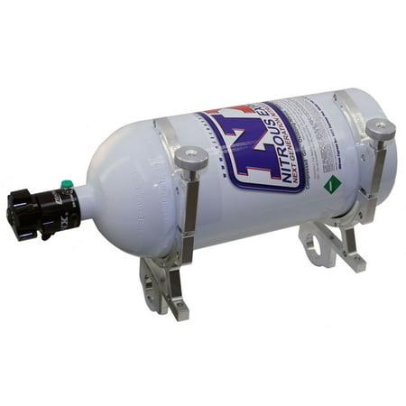N20 Bottle (Nitrous Express 11108B Billet Nitrous Bottle Bracket For 10/12/15 lbs. N20)