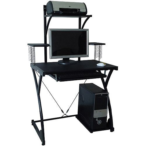 Comfort Products Raynier Computer Desk With Printer Stand