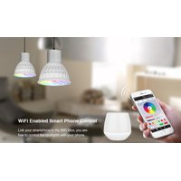 HURRISE Milight Wireless E27 GU10 4W LED Light RGB + CCT Bulb Lamp Decor