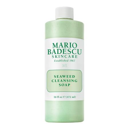 Mario Badescu Seaweed Cleansing Soap 16 Fl Oz