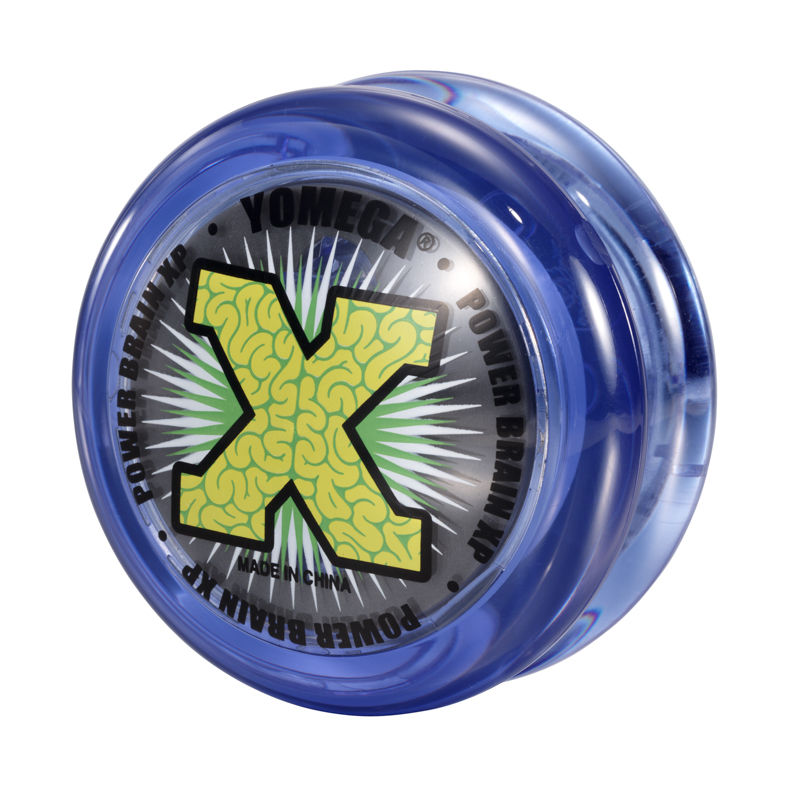 Yomega Power Brain XP Blue and Clear Yo Yo