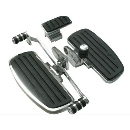 Rivco Products GL18020 Driver Floorboards with Heel Toe Shifter