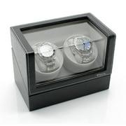 Best Double Watch Winders - Elite Double Watch Winder - Black Leather Review