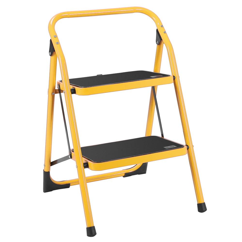 Ubesgoo Lightweight Foldable Portable 2 Step Ladder Multi