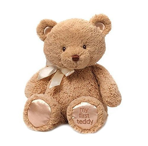 Gund My First Teddy Bear Baby Stuffed Animal, 15 inches by