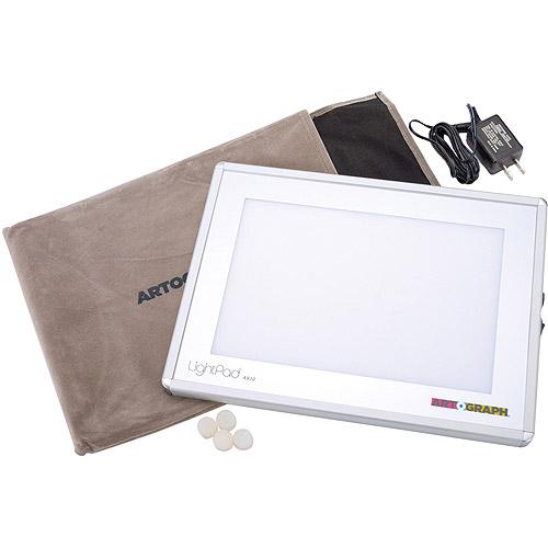"Artograph Light Pad Light Box, 8.6""x11.6""x.625"""