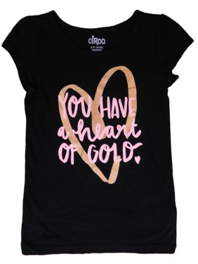 ea1efc26e541b Product Image Girls Black You Have A Heart of Gold Valentine Tee Shirt T- Shirt