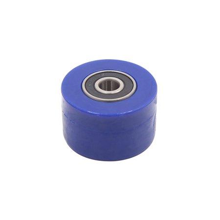 Atv Sprocket - 8mm Chain Roller Tensioner Pulley Wheel Sprocket Blue for Motorcycle ATV Quad