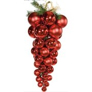 Autograph Foliages J-100096 36 in. x 16 in. Multi-Ball Drop Ornament - 2 Pack