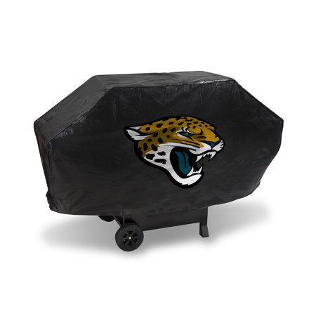 Jacksonville Jaguars NFL DELUXE Heavy Duty BBQ Barbeque Grill (Nfl Bbq Grill Cover)