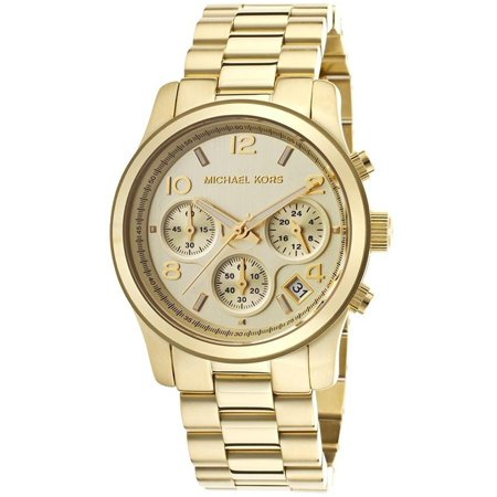 69f2880169d2 Michael Kors - Ladies  Runway Chronograph Watch MK5055 - Walmart.com