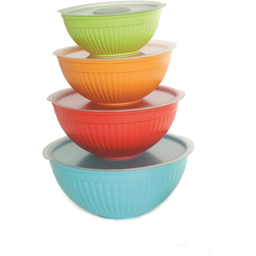 Nordic Ware 8-Piece Covered Bowl Set