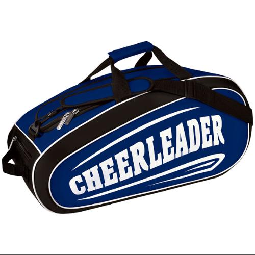 "Chasse Girls' The Convertible Bag With Cheerleader Logo - Navy Size - 23"" x 11"" x 12"""