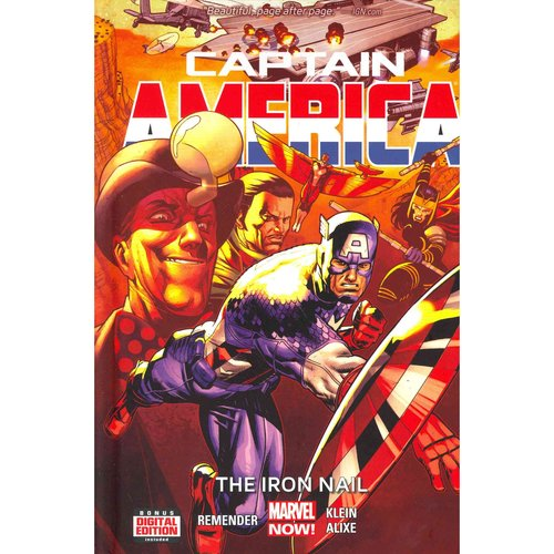 Captain America 4: The Iron Nail - Marvel Now