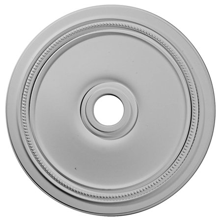 """24""""OD x 3 5/8""""ID x 1 1/4""""P Diane Ceiling Medallion (Fits Canopies up to 6 1/4"""")"""