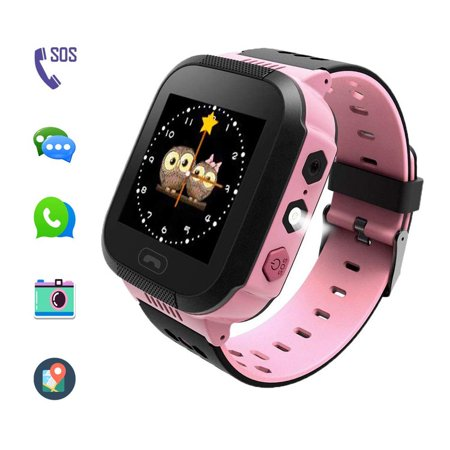 Kids' Smart Watches can Make Calls and Send Voice, SOS Alarms and LBS Positioning Functions. This is The Best Gift for The Children.