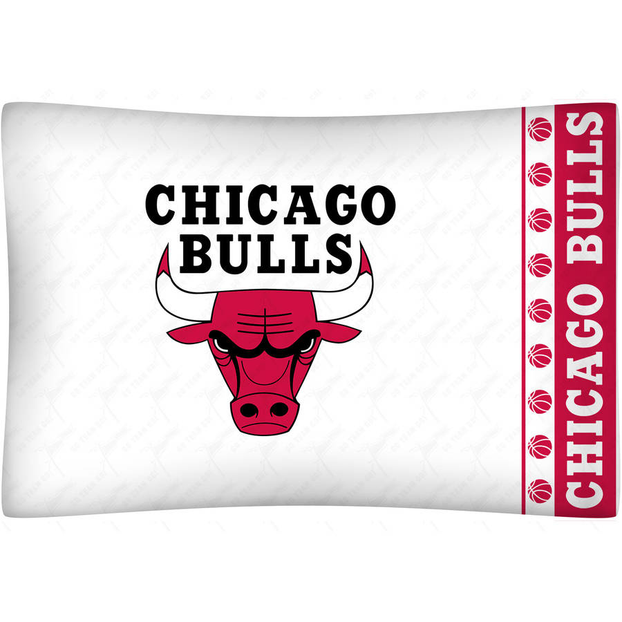 NBA Bulls Pillow Case