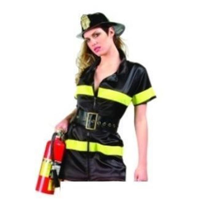 Costumes RG 81591-S Fire Girl Costume - Taille adulte de petite 2-4 - image 1 de 1