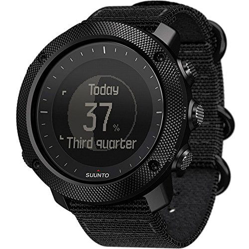 Suunto Traverse Alpha Stealth Watch, Black by Suunto