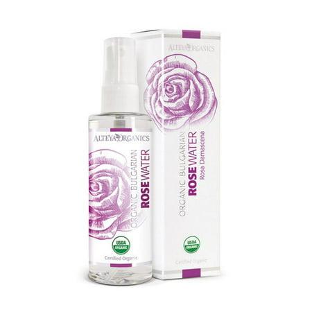 Alteya USDA Organic Thermal-Distilled Bulgarian Rose Water