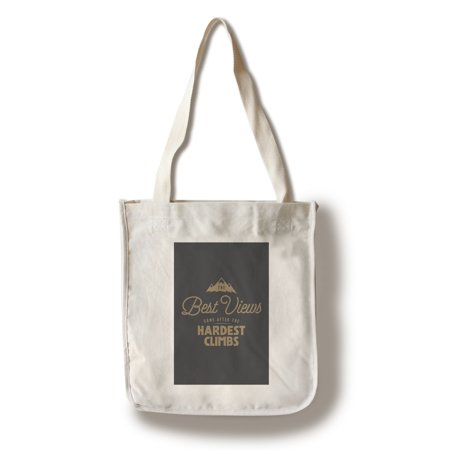 The Best Views Come After The Hardest Climbs - Breathless Paper Co. Artwork (100% Cotton Tote Bag -
