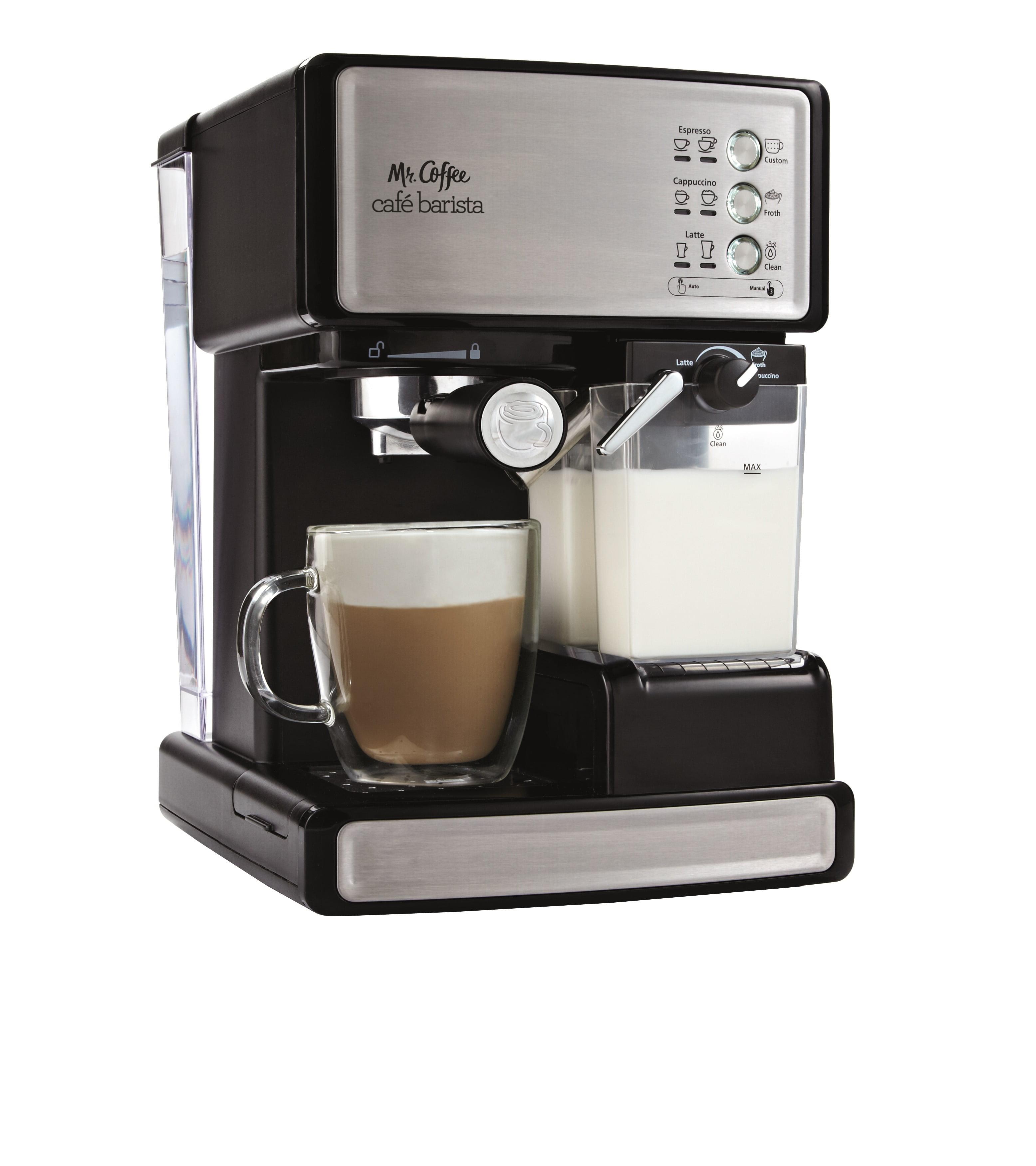 Mr Coffee Cafe Barista Espresso Maker Bvmc Ecmp1000 Black Silver