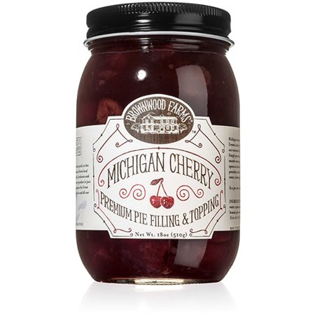 Brownwood Farms Michigan Cherry Premium Pie Filling & Topping (18
