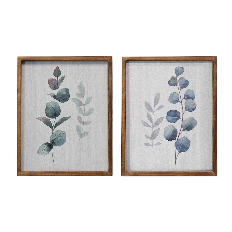 Stratton Home Decor Set of 2 Botanical Art - image 3 de 3