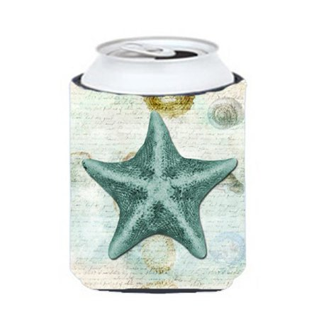 Carolines Treasures SB3043CC Starfish Can Or Bottle  Hugger - image 1 de 1