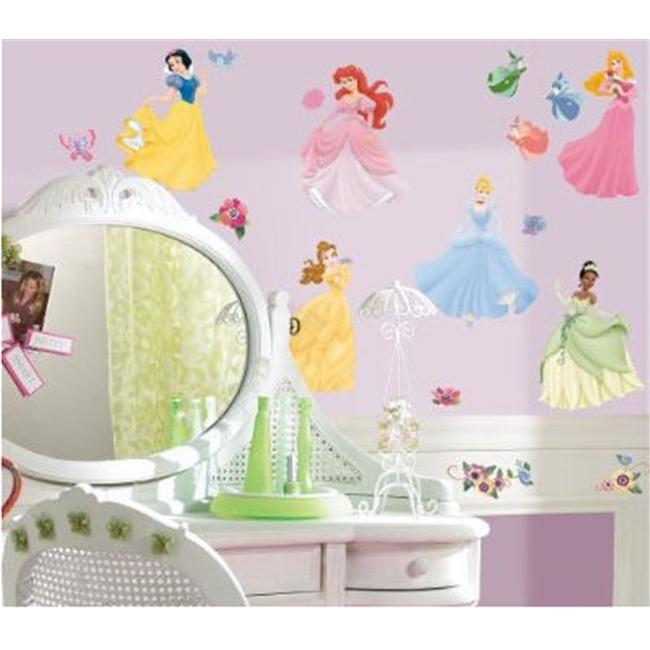 Roommates RMK1470SCS Disney Princess Peel & Stick Wall Decal