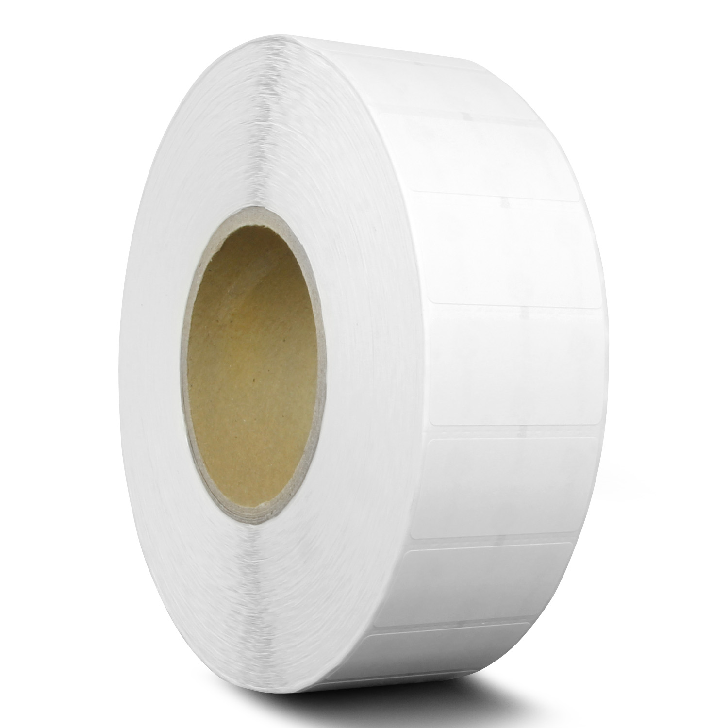 Perforations Between Labels Pack of 3 White CompuLabel Direct Thermal Labels Permanent Adhesive Roll 1300 per Roll, 2-inch x 1 inch 530550