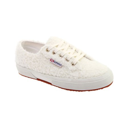 Women's Superga 2750 Curlysyntwoolw Sneaker (Superga Kids Classic Shoe)