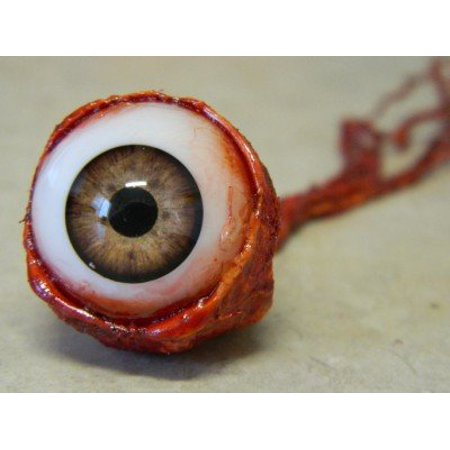 Life size Realistic Ripped out Eyeball Halloween Prop - Light - Halloween Ost