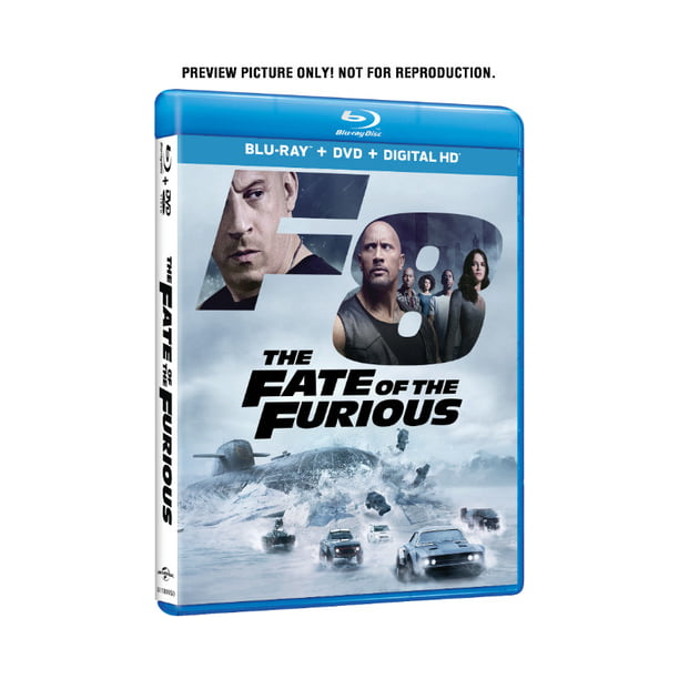 The Fate of the Furious (Blu-ray + DVD + Digital Copy)