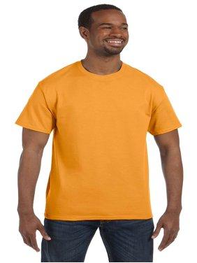 Hanes Men's Short Sleeve Tagless T-Shirt, Candy Orange, X-Large