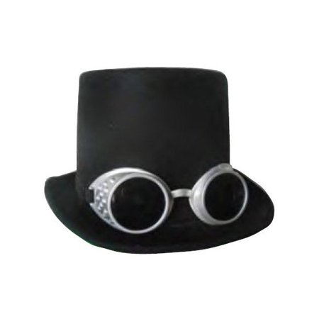 Steampunk Deluxe Hat and Goggles