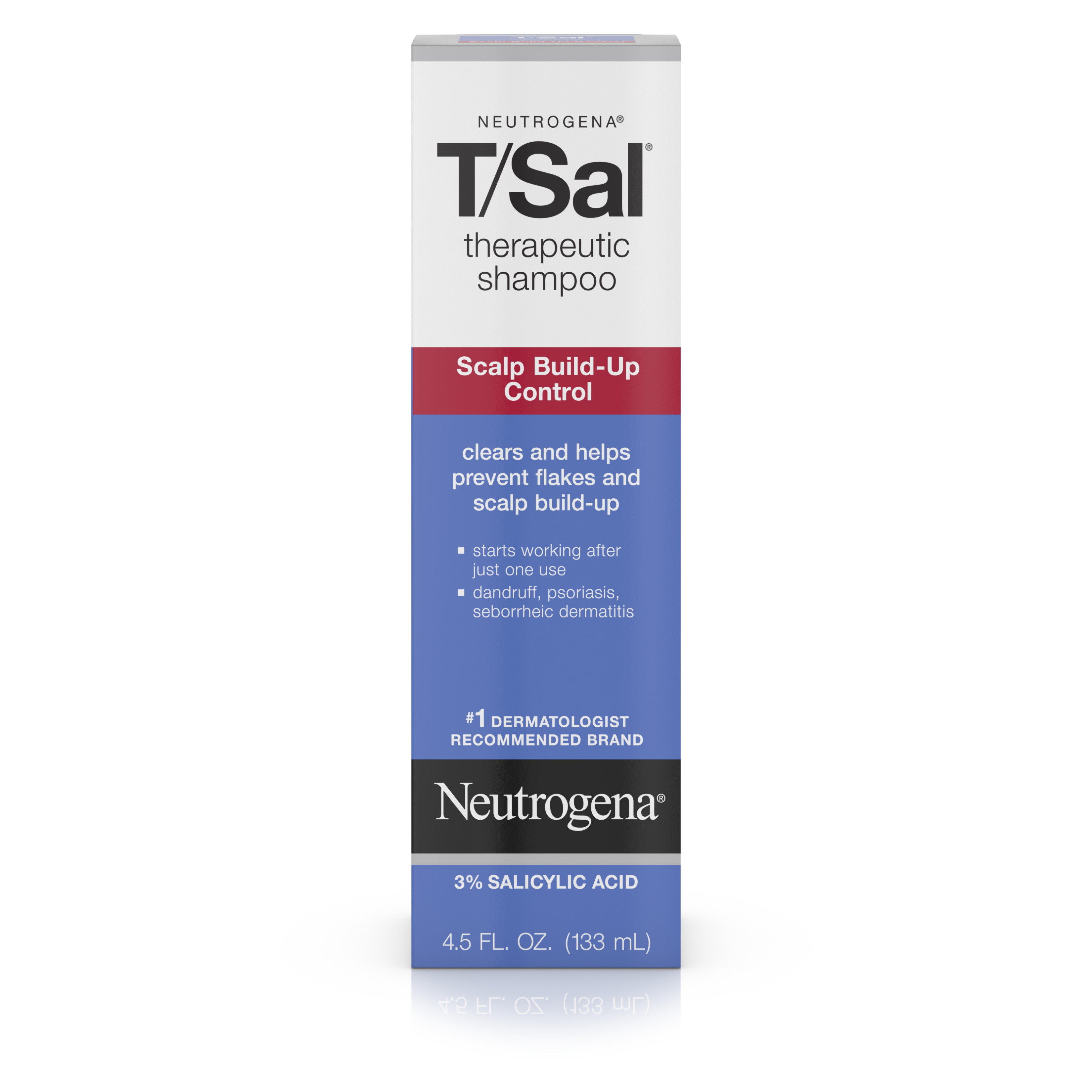 Neutrogena T/Sal Shampoo Scalp Build-Up Control, 4.5 Fl Oz - Walmart.com