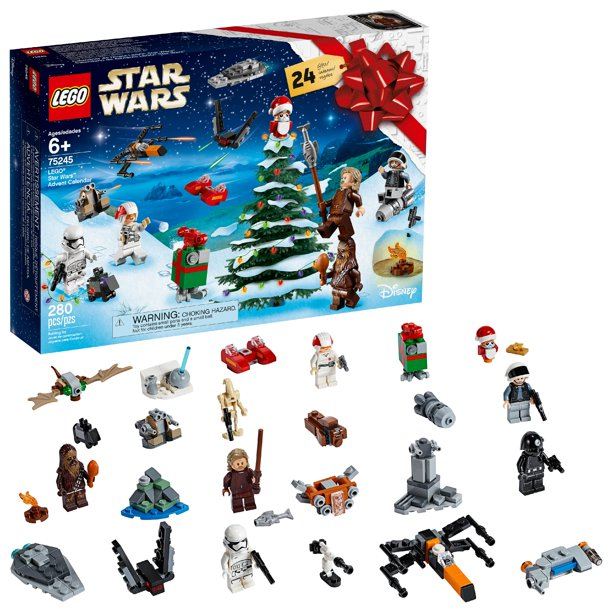 LEGO Star Wars 2019 Advent Calendar 75245 Holiday Building Kit - Walmart.com - Walmart.com