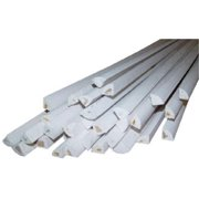 Alexandria Moulding 00100-20096C1 8 ft. Quarter Round Solid Pine Molding - Pack of 16