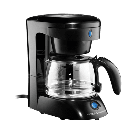 4 Cup Coffee Maker Wauto Shut Off Black Walmartcom