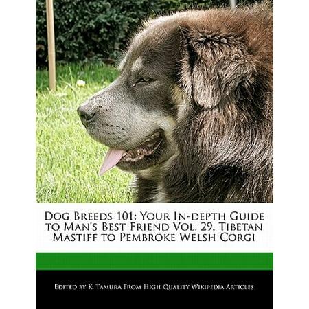 Dog Breeds 101 : Your In-Depth Guide to Man's Best Friend Vol. 29, Tibetan Mastiff to Pembroke Welsh