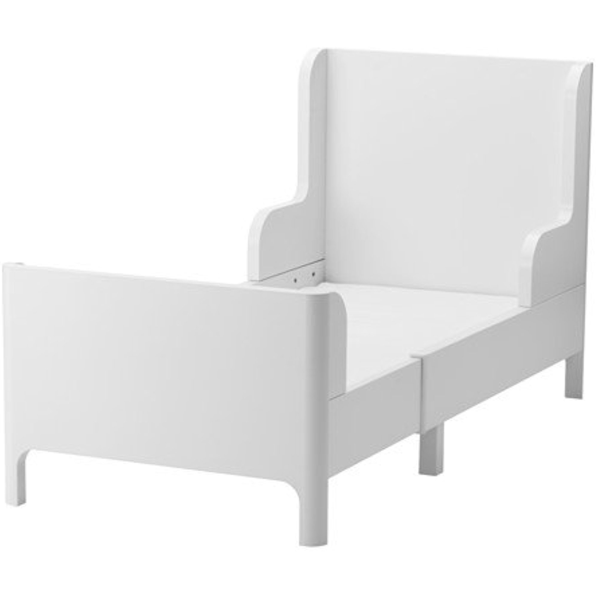 """Ikea Extendable bed, white , 37 3/4x74 3/4 """" , 38214.21723 ..."""