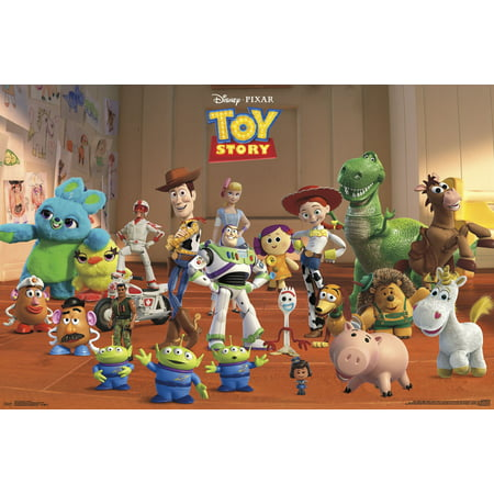 - Toy Story 4 - Collage Poster