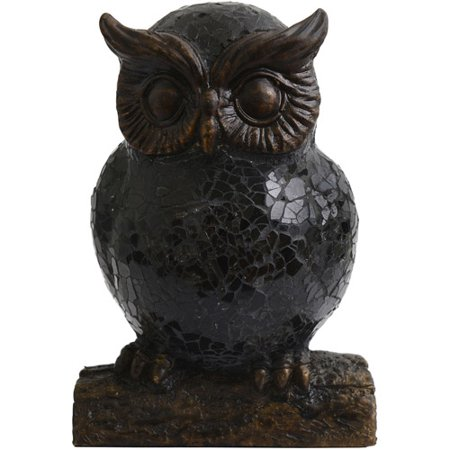 Better Homes and Gardens Bronze Resin Owl Night Lamp