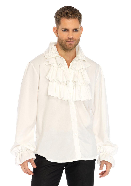 Leg Avenue Mens Renaissance Ruffle Front Pirate Shirt