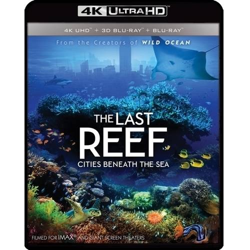 IMAX: The Last Reef: Cities Beneath the Sea (4K Ultra HD + 3D Blu-ray + Blu-ray)